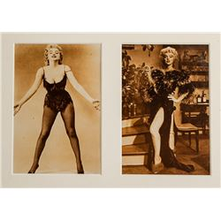 Marilyn Monroe Diptych, Two Postcards