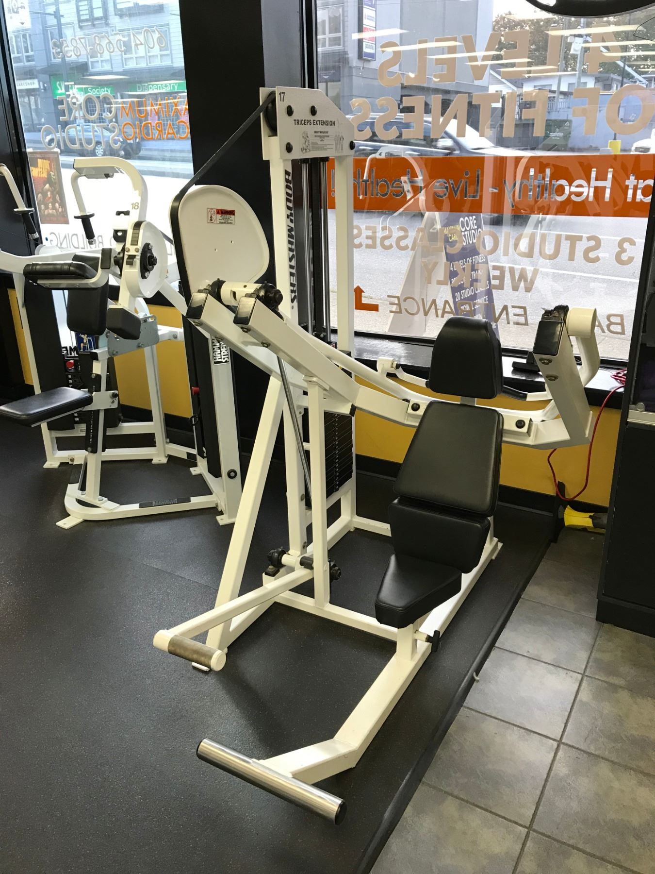 BODY MASTER OVERHEAD TRICEPS EXTENSION MD 422