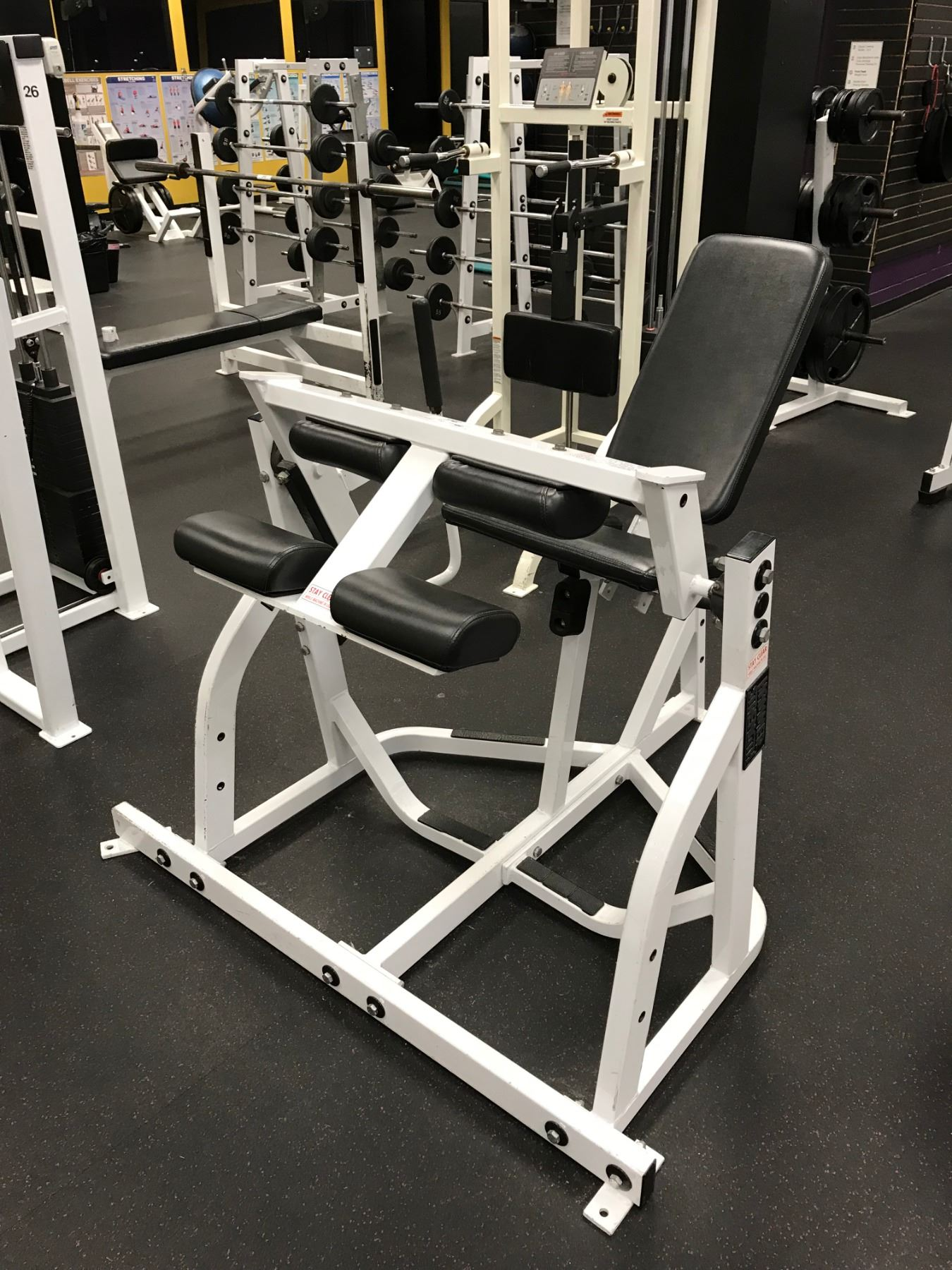 HAMMER STRENGTH FREEWEIGHT SEATED LEG CURL