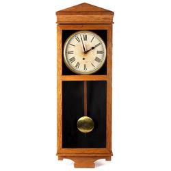 E. Ingraham Hanging Wall Clock