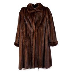 Ladies Full Length Mink Fur Coat