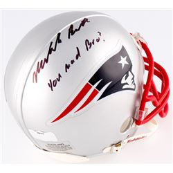 331cff34619 Malcolm Butler Signed Patriots Mini-Helmet Inscribed