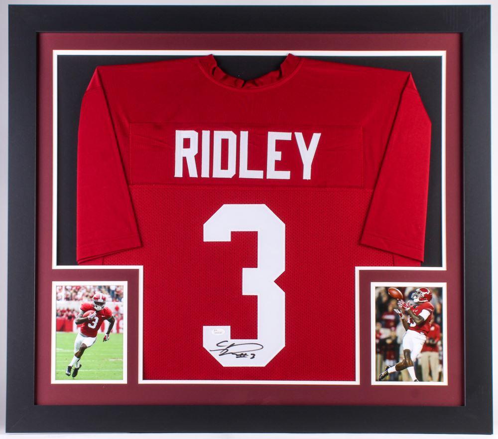 online store 10bfa 2b1d3 Calvin Ridley Signed Alabama Crimson Tide 31x35 Custom ...