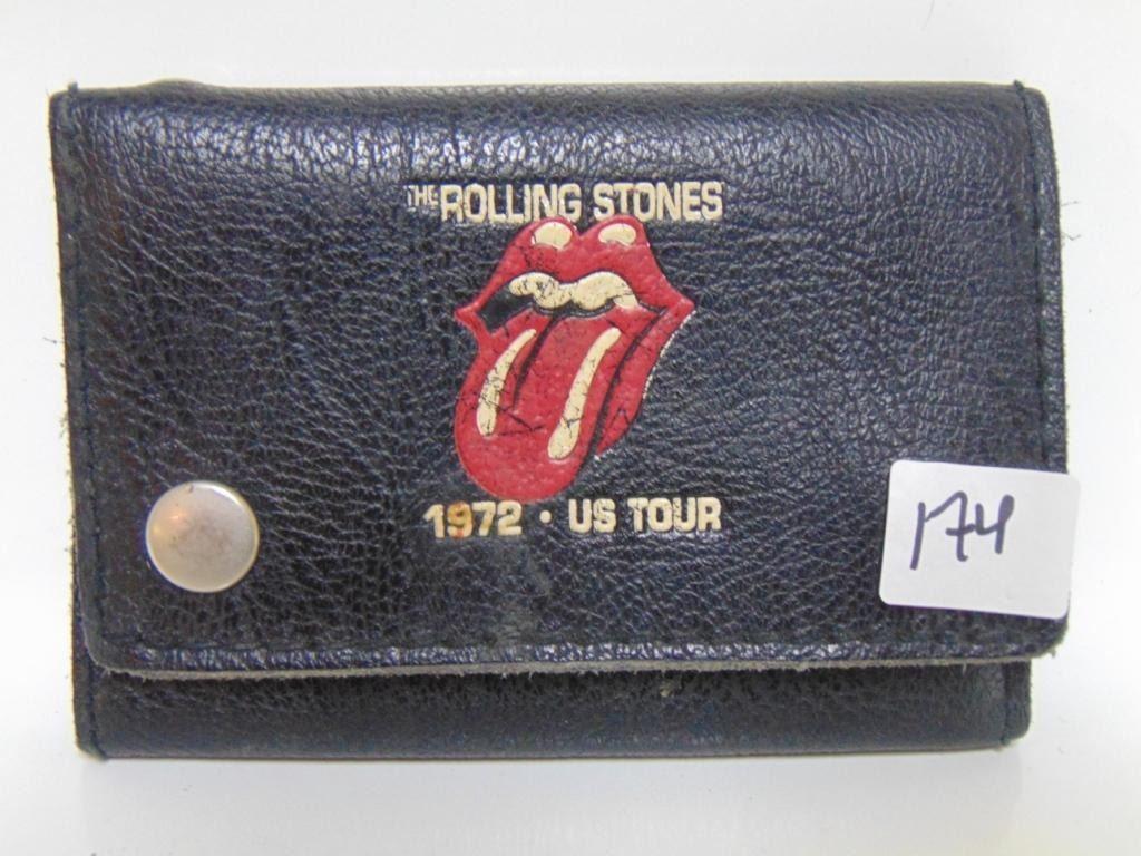 1972 US TOUR ROLLING STONES WALLET