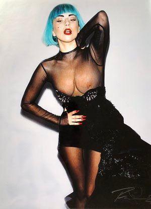Lady Gaga Nipples Limited Edition Print