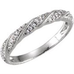 *Michigan – Diamond Band Ring