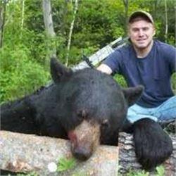 *New Brunswick – 5 Day – Black Bear Hunt for One Hunter