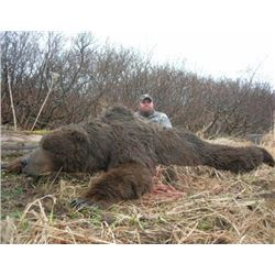 Alaska – 10 Day – Brown Bear Hunt for One Hunter