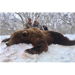 Russia - 13-Day/6 Days Hunting – Kamchatka Brown Bear Hunt for One Hunter