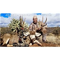 Arizona – 4 Day – Archery Mule Deer and Javelina Hunt for One Hunter