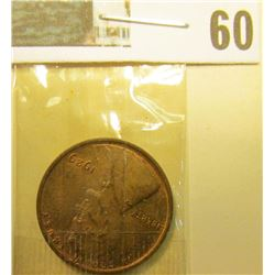 1929 P Lincoln Cent, Red-Brown Uncirculated.