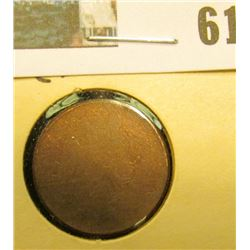 Type 2 Rolled Edge Lincoln Cent Blank Planchet.