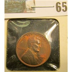 1923 P Lincoln Cent, Red-Brown Uncirculated.