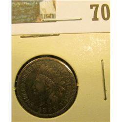 1885 Indian Head Cent, Fine.