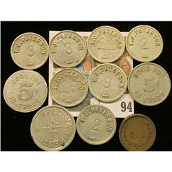 (10) Various Good For Maverick Tokens.