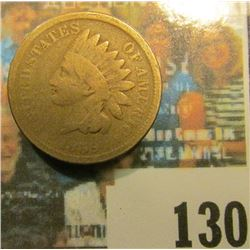 1859 U.S. Indian Head Cent,Good.