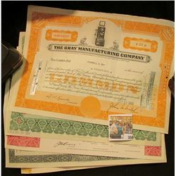 "(5) Different Stock Certificates: ""Western Reserve Life Insurance Company""; ""General American Invest"