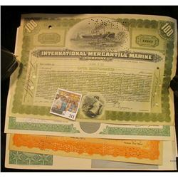 "(5) Different Stock Certificates: ""The Common Stock Fund""; ""Faberge, Incorporated""; ""Richfield Oil C"