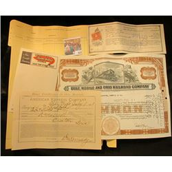 "Index Sheet of ""Savings Account Farmers Savings Bank, Barnes City, Iowa""; ""Continental Flame Sealed"