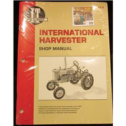 """I & T Shop Manuals International Harvestor Shop Manual"" IH8, near mint condition."