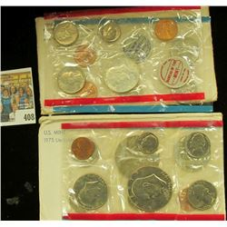 1970 & 1975 U.S. Mint Sets, both original as issued.