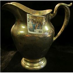 Part of the Estate of the John Morrell Family, of John Morrell Meat's fame. This Pitcher is moderate