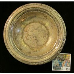 Part of the Estate of the John Morrell Family, of John Morrell Meat's fame. This bowl is moderately