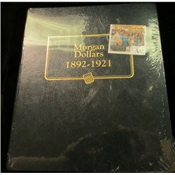 "Near mint condition ""Morgan Dollars 1892-1921"" Whitman Coin album. Used."