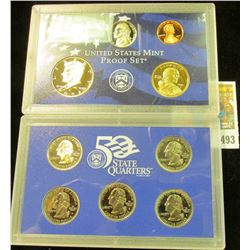 2002 S U.S. Proof Set. Original as issued.