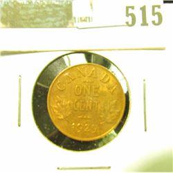 1929 Canada Cent, UNC.