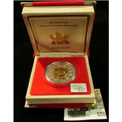 2002 Royal Canadian Mint (RCM) $15 Chinese Lunar Coin, Year of the Horse-Silver.