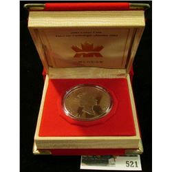 2003 Royal Canadian Mint (RCM) $15 Chinese Lunar Coin, Year of the Ram-Silver.