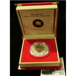 2009 Royal Canadian Mint (RCM) $15 Chinese lunar coin, year of the ox – silver.