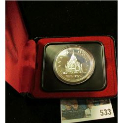 1976 Royal Canadian Mint (RCM) Silver Dollar.