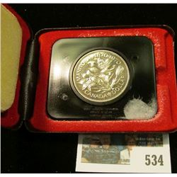 1970 Royal Canadian Mint (RCM) Manitoba Centennial Dollar