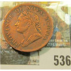 1832 Nova Scotia, Half Penny