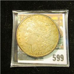 1921 S Morgan Silver Dollar with full original toning.