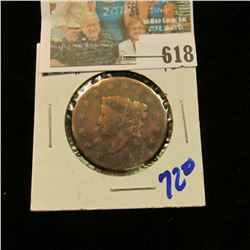 1820 MATRON HEAD LARGE CENT