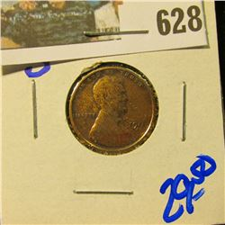1911-S SEMI KEY DATE WHEAT CENT
