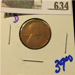 1924-D SEMI KEY DATE WHEAT CENT