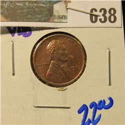 1909-VDB WHEAT CENT