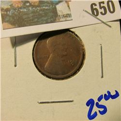 1912-S SEMI KEY DATE WHEAT CENT