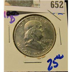 1950-D FRANKLIN HALF DOLLAR