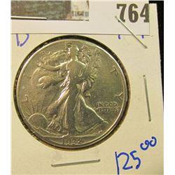 KEY DATE 1938-D WALKING LIBERTY HALF DOLLAR