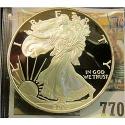 2005 PROOF AMERICAN SILVER EAGLE