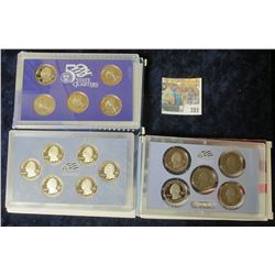 2008 PROOF STATE QUARTERS, 2009 DISTRICT OF COLUMBIA/ UNITED STATES TERRITORIES, & 2010 AMERICA THE