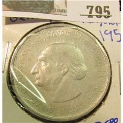 "GERMAN 1923 5O MILLION MARKS COIN ""NOTGELD- EMERGENCY MONEY"""