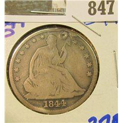 1844-O SEATED HALF DOLLAR