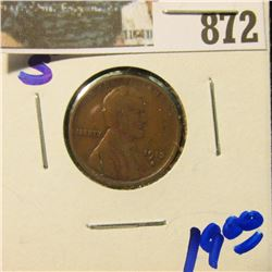 1913-S SEMI KEY DATE WHEAT CENT