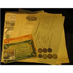 "982 _ Standard Separator Co. Invoice dated 7/28/13; (3) Invoices from 1905-06 ""White-Manufacturing C"